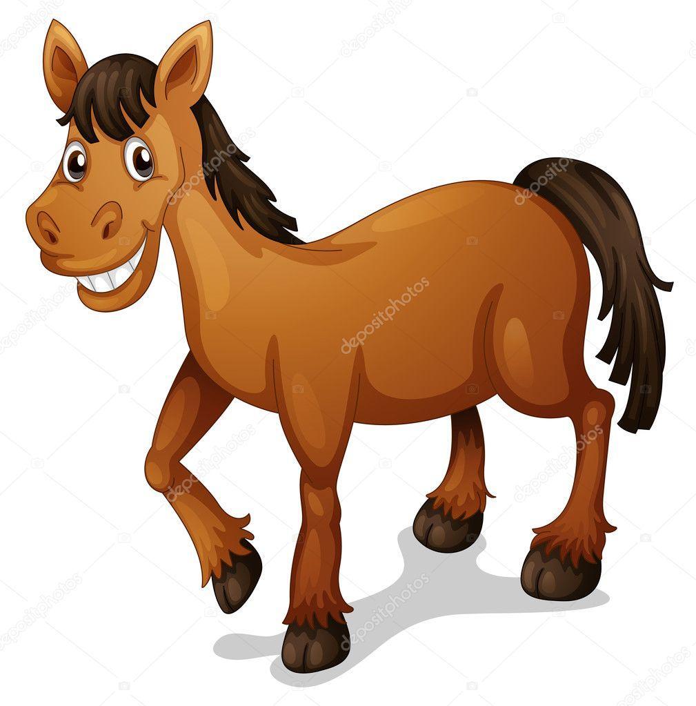 Výsledek obrázku pro kůň kreslený