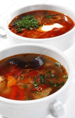 Russian and Ukrainian Cuisine - Solyanka and Fish Soup
