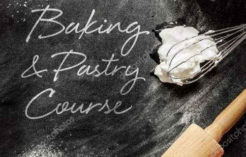 Baking and pastry course - poster design