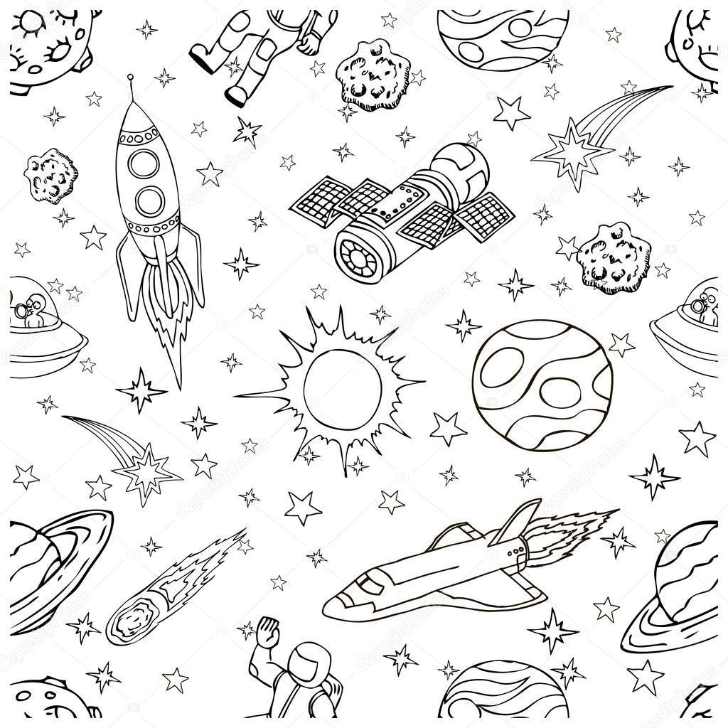 Ve Vesmiru Cmaranice Symboly A Prvky Navrhu Karikatura Misto Ikony