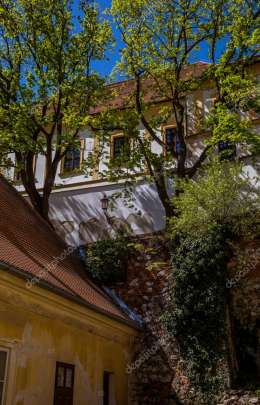 Historical picturesque streets of Mikulov
