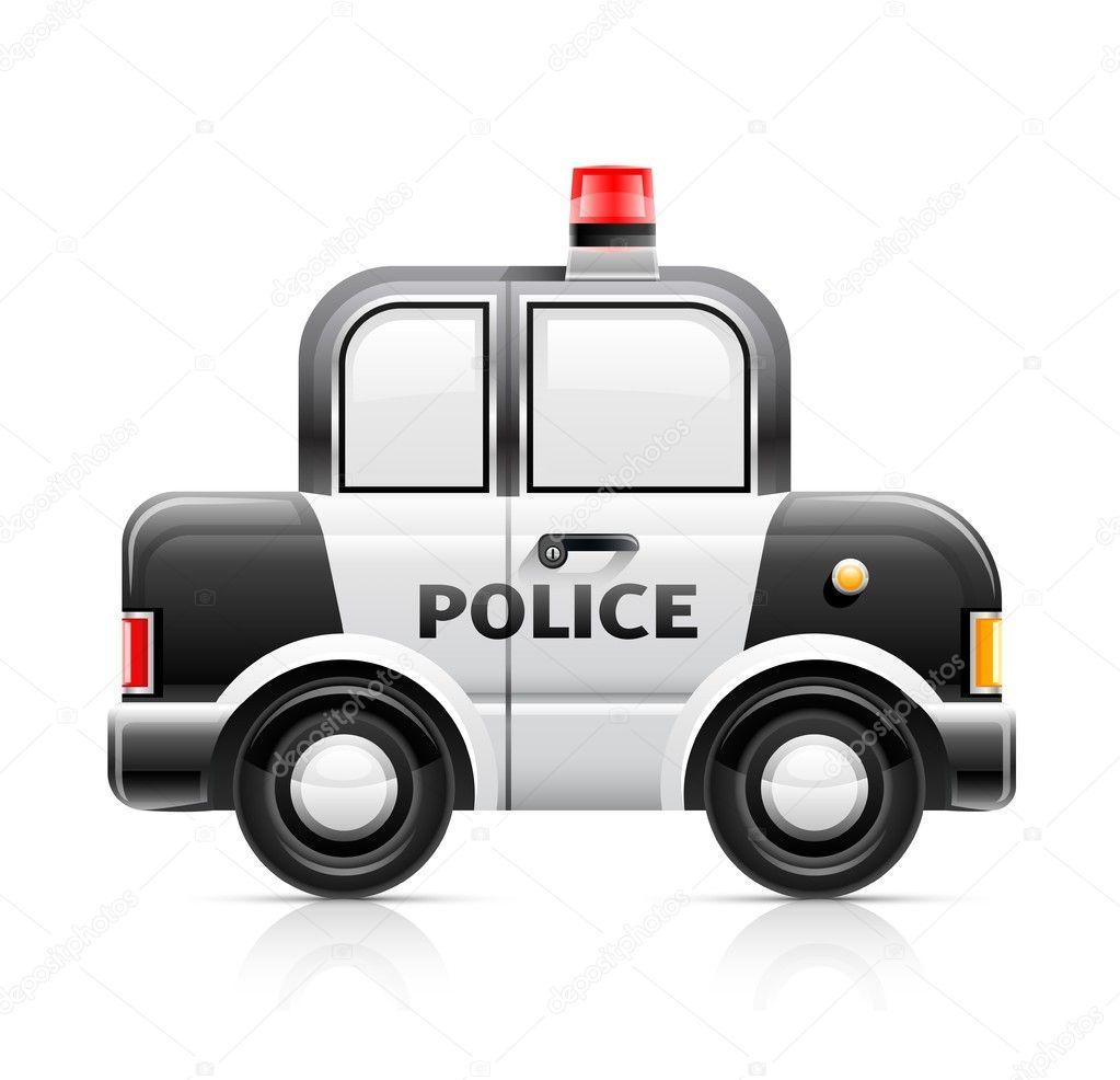 Policejni Auto Fototapeta12